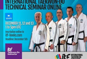 First International Technical Seminar Online